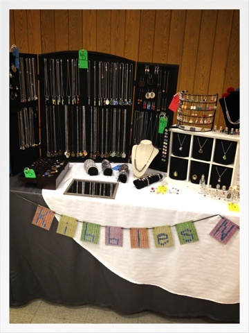 17 best images about display ideas on pinterest craft for Battery operated lights for craft booth