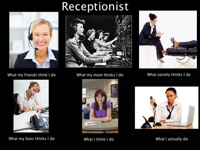 Funny Memes For Receptionist : Best receptionist humor images on pinterest work