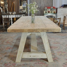 View Reclaimed Wood Rustic Dining Table