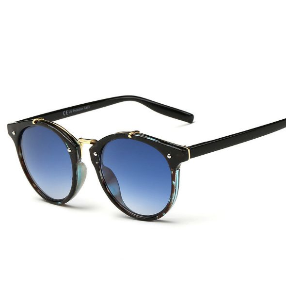 Retro Sunglasses Vintage Round