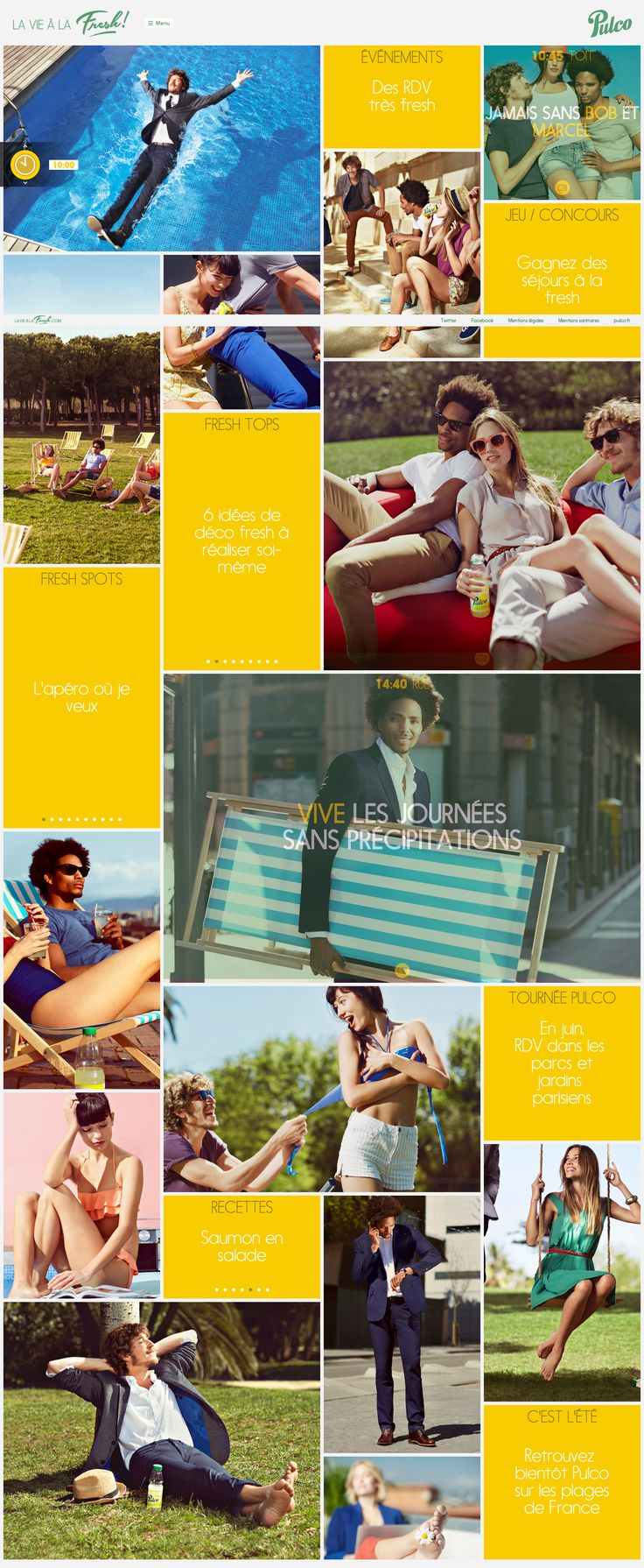 Découvrez le site officiel pour prendre la vie à la fresh avec Pulco.  Home Product Yellow Image Flat Responsive
