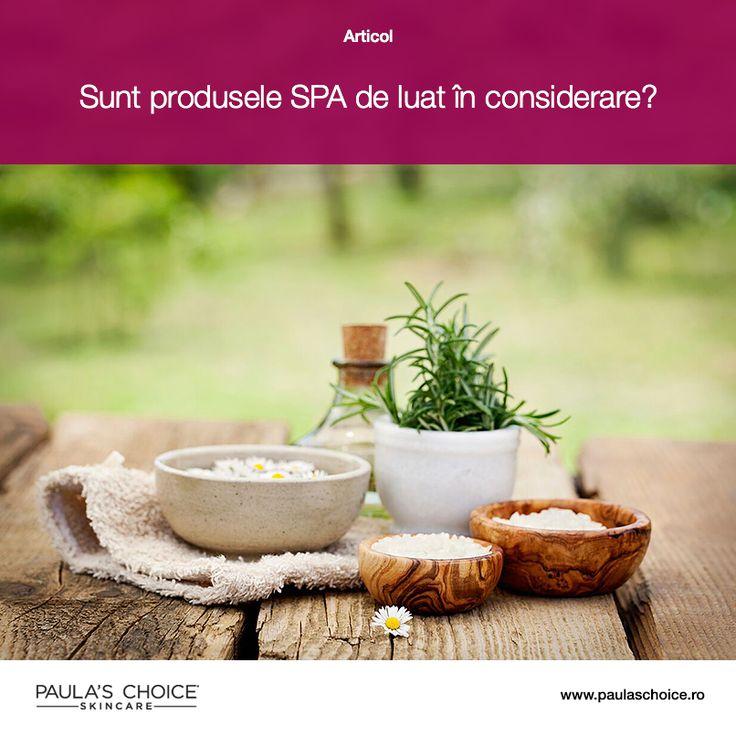Cât de benefice pentru sănătatea pielii sunt nămolul, trufele sau celelalte ingrediente vedetă folosite în produsele de la spa? Află adevărul despre acestea citind articolul!