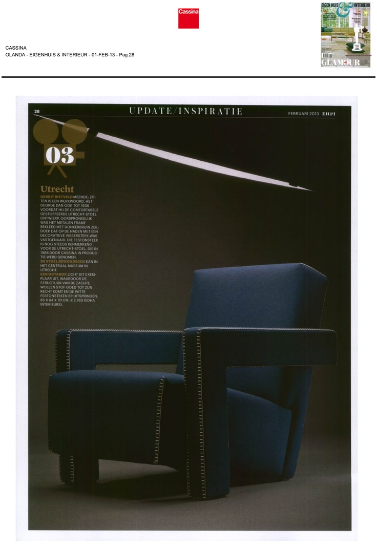EIGENHUIS & INTERIEUR - UTRECHT, design Gerrit Thomas Rietveld