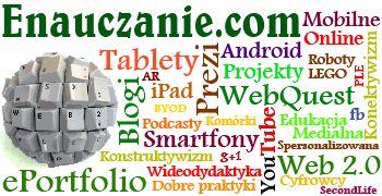 Portal założony przez Lechosława Hojnackiego na temat wykorzystania nowoczesnych technologii w edukacji