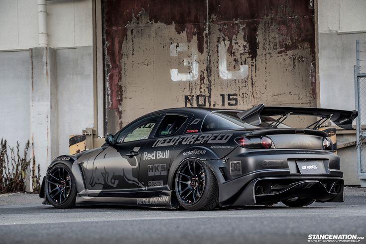 Mazda RX-8 on Work wheels. | Photos by STANCENATION.