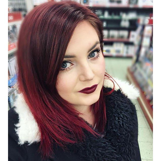 14 prachtige ombre kapsels voor de dames met rood haar