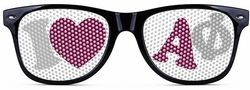 Alpha Phi Wayfarer Style Lens Sunglasses SALE $12.95. - Greek Clothing and Merchandise - Greek Gear®
