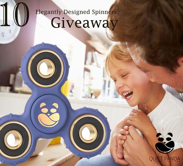 Help me win this classy Quiet Panda fidget spinner