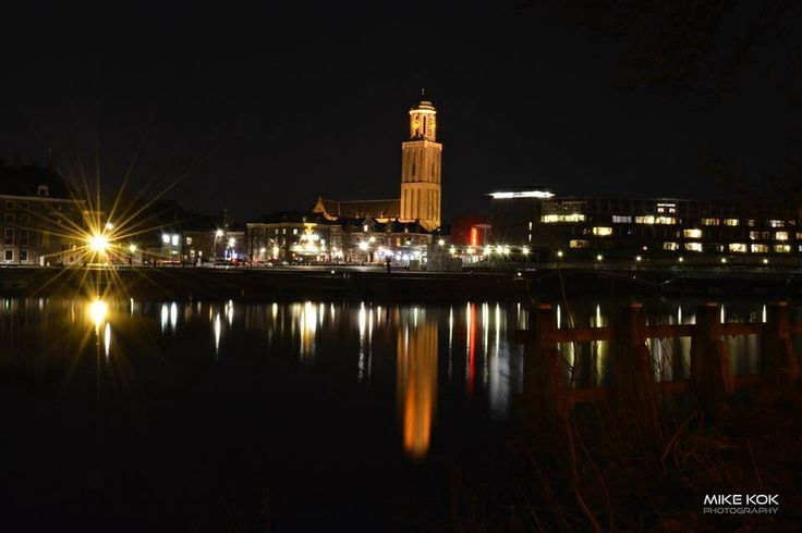 Zwolle at night