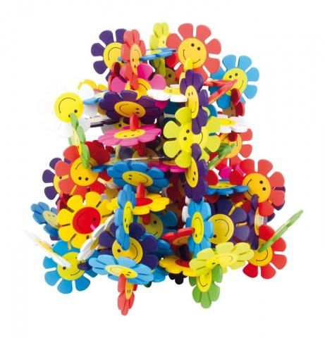 Bloemen verbindingsspel | FysioToys
