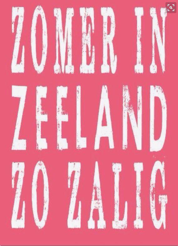 Zomer in Zeeland.