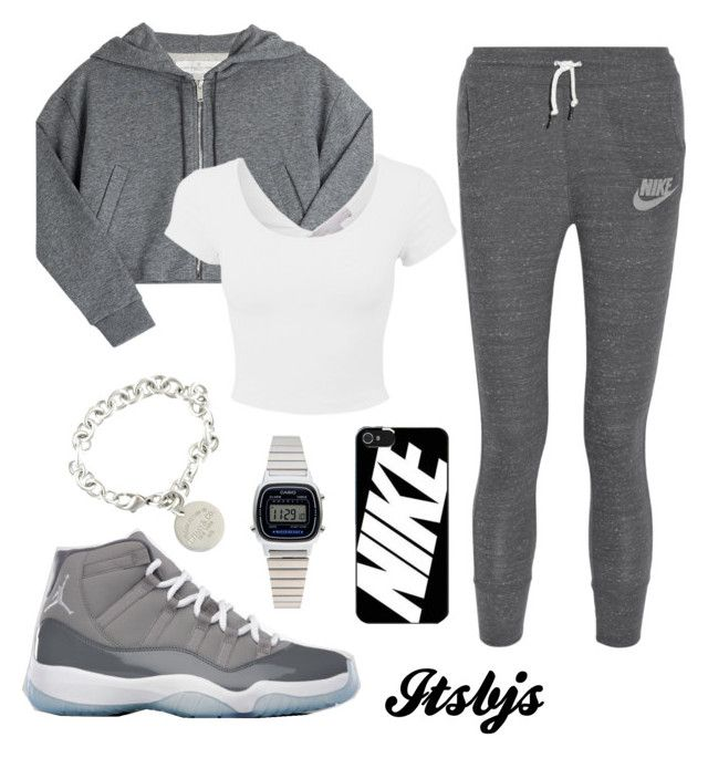 """Grey/Jordan11/Nike"" by itsbjs on Polyvore"