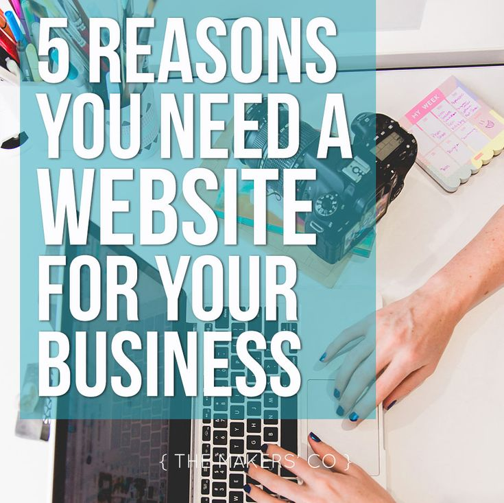 The top 5 reasons you MUST have a website for your business