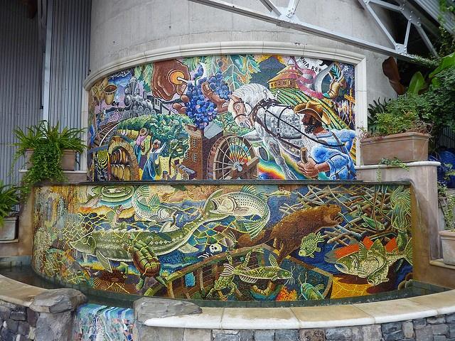 73 Best Mosaic Mural Street Art Images On Pinterest