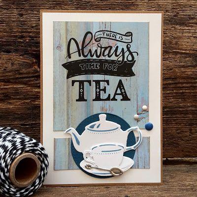 Crea-spul van Colien: Tea is like a hug...