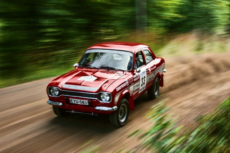 escort ford preparation rally