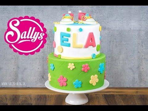 Sallys Regenbogentorte Rezept und Anleitung / Rainbowcake Recipe - YouTube