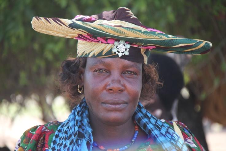 Herero Woman, Namibia, March 2011 (V1)