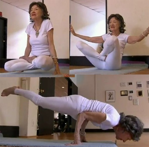 Toa Porchon Lynch: 93 years old, yoga instructor
