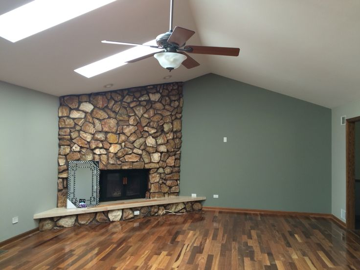 Cornwall slate and amazing gray sherwin williams stone for Living room paint inspiration