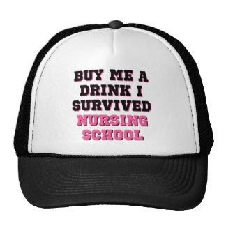 Nursing School Buy Me A Drink Mesh Hats
