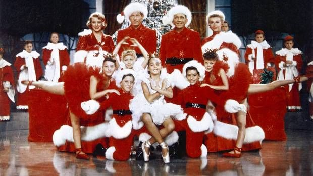 thanksgiving movies white christmas cast