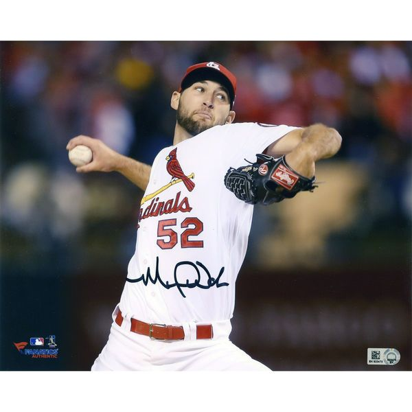"Michael Wacha St. Louis Cardinals Fanatics Authentic Autographed 8"" x 10"" Ball In Hand Photograph - $99.99"