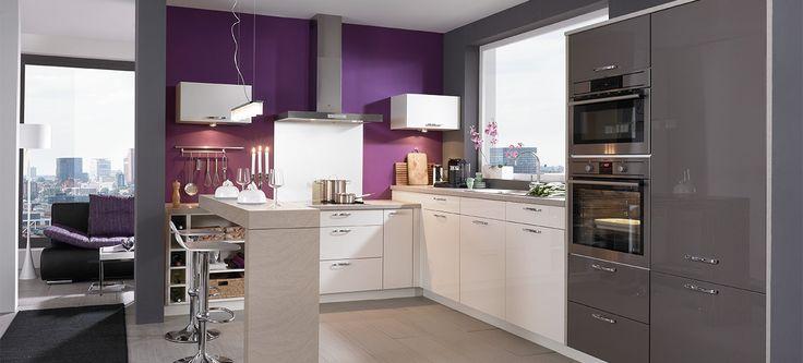 O bucătărie feminină și funcțională  Bucătăria echipată MAJANO vi se potrivește! Privitorul cu gust rafinat apreciază pe loc combinația între finețea stilului și spațiul bine gândit.