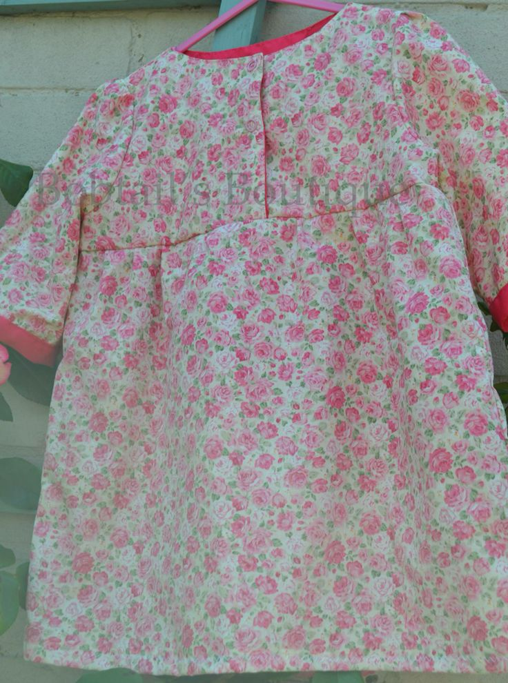 Three quarter length sleeve tunic top age 3 years