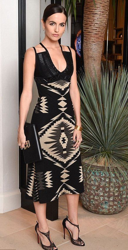 Camilla Belle attends the Ralph Lauren and Vogue: Celebrate Iconic Style event. #bestdressed