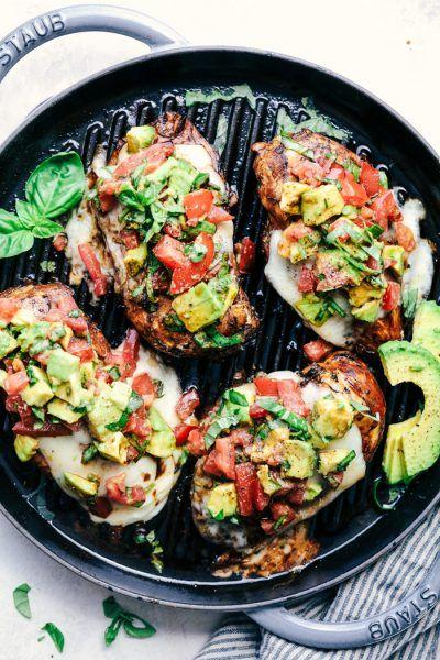 Grilled California Avocado Chicken | The Recipe Critic | Bloglovin'