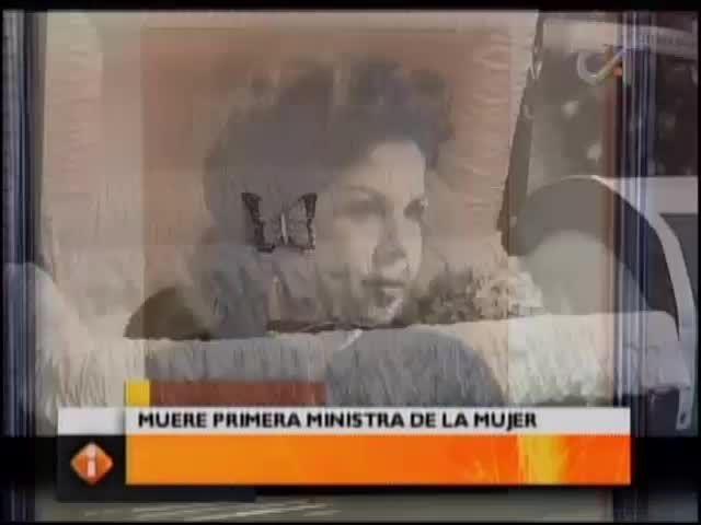 Fallece Gladis Gutiérrez, Quien Fue La Primera Ministra De La Mujer En RD #Video