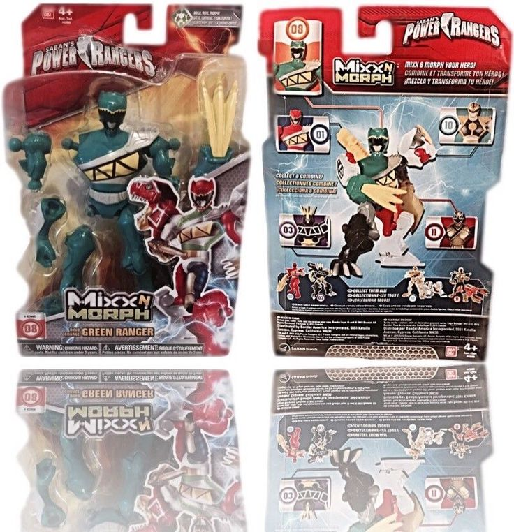 """☆SABAN'S POWER RANGERS, DINO CHARGE GREEN RANGER-6"""" INCHES-NEW☆ #PowerRangers"""