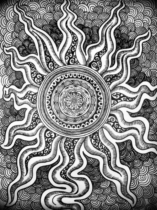 zendoodle sun and waves