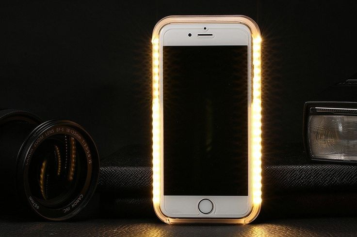 Luxury LED Selfie Case For iPhone 7  Always find it difficult to get the best selfie under dark lighting conditions? Not anymore if you have this luxury LED selfie case. Its compatible with the iPhones and is a dirt-resistant design too. The purpose of this case is to make your selfie hours more lit up and bright even under the darkest lighting conditions. The LED strap around the case will light up your face and help you in getting the best selfies you desire. Other than this... Continue…