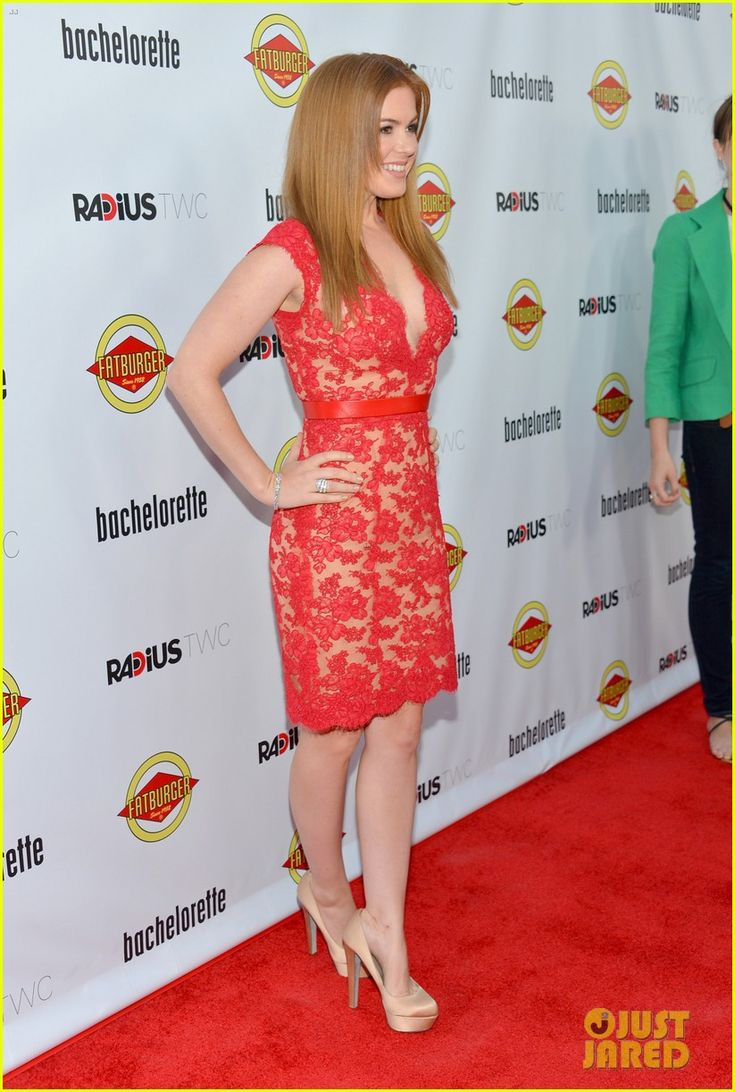 Isla Fisher at the Bachelorette premiere - Arclight Cinemas, Hollywood