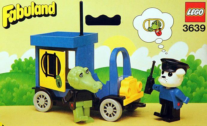 Lego Fabuland Paddy Wagon