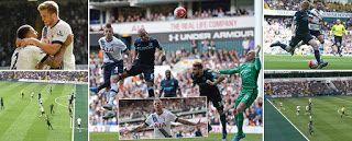 City goleado em White Hart Lane quando podia ter goleado; Ex-Sporting contribuiu, mas foi Lamela quem desequilibrou ~ Visão de Mercado