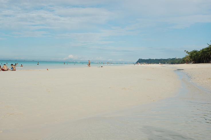 One of the famous beach in the world, Boracay Beach in Malay Aklan, Philippines     Boracay has  a lot of the most  attractive  seasides in the  planet.