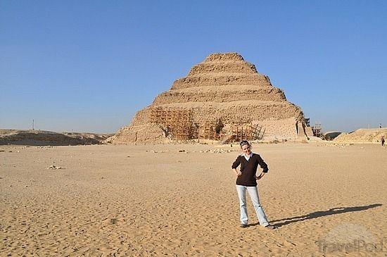 La piramide escalonada de Zoser en sakkara #sakkara #piramide #Egipto #tour