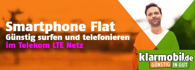2gb Klarmobil Vodafone Allnet Flat Fur 7 99 Handyvertrag Smartphone Telekom