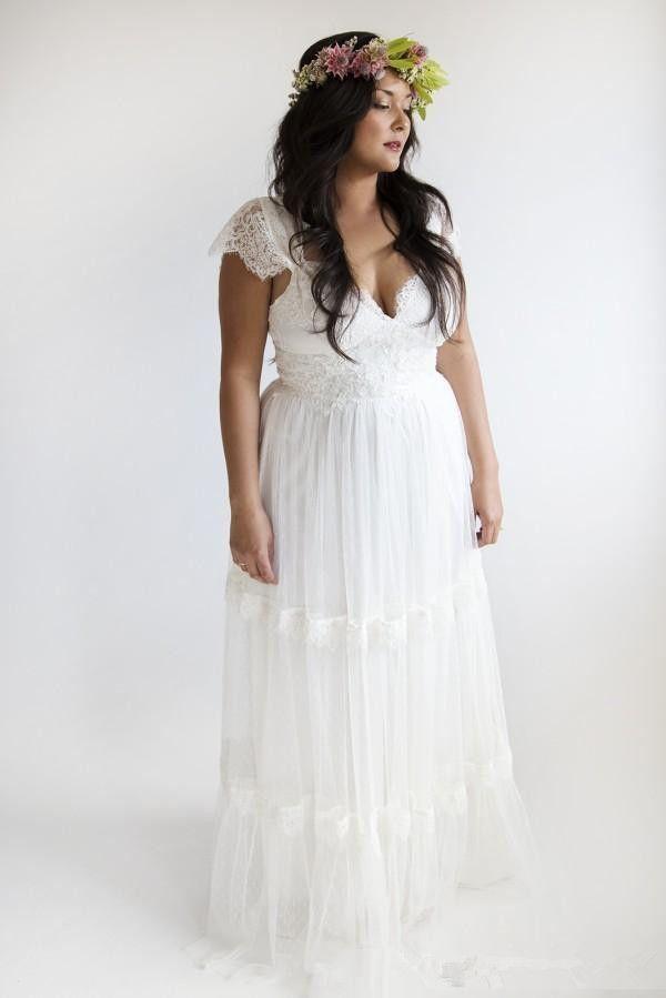 78 Best ideas about Garden Wedding Dresses on Pinterest  Beach ...