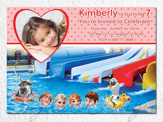 Frozen Birthday Invitation Frozen Birthday Party by BogdanDesign, $7.99