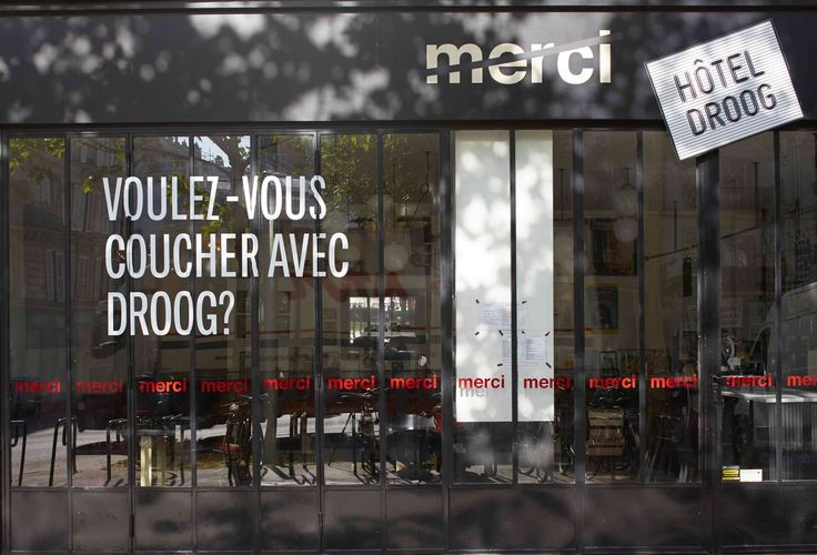 #installation HOTEL DROOG PARIS #mercishopparis