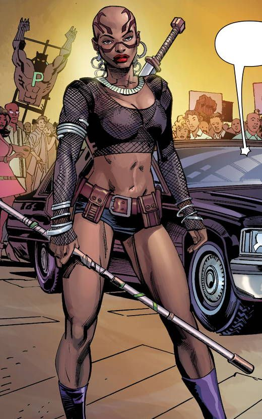"""superheroesincolor: """" Dora Milaje, Black Panther // Marvel Comics These young women are the King's body guards/concomitants. The order was established to promote harmony between Wakanda's 18 rival..."""