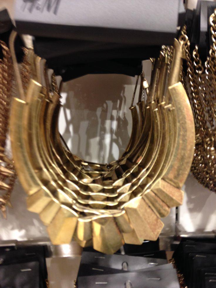 Gouden ketting H&M - 9,95