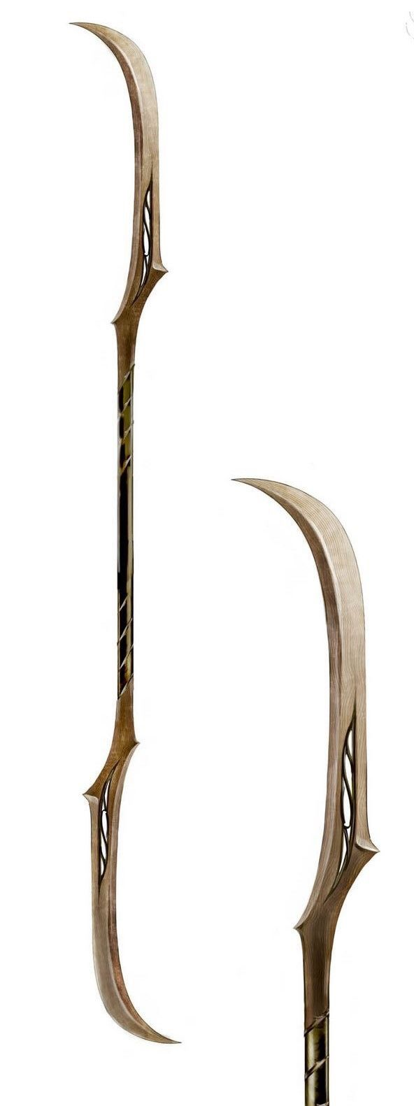 Double ended sword/staff -- I have no idea what it's called