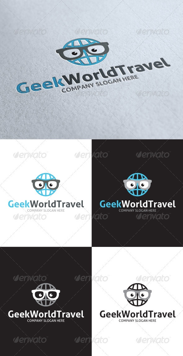 Geek World Travel Logo