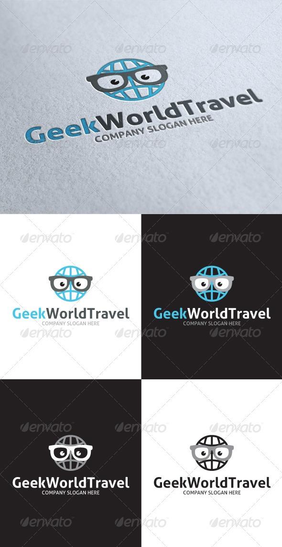 Geek World Travel Logo