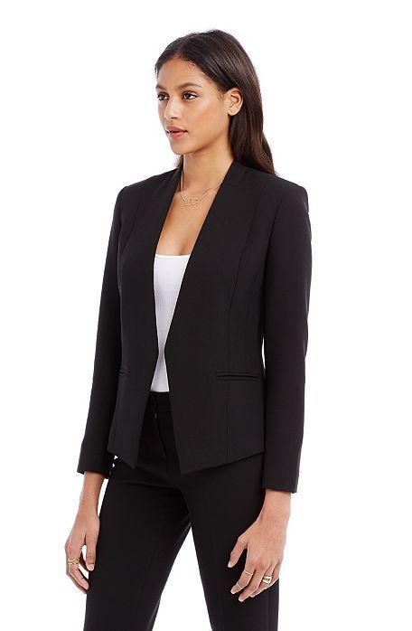 Cropped Blazer - Outerwear - Womens - Armani Exchange